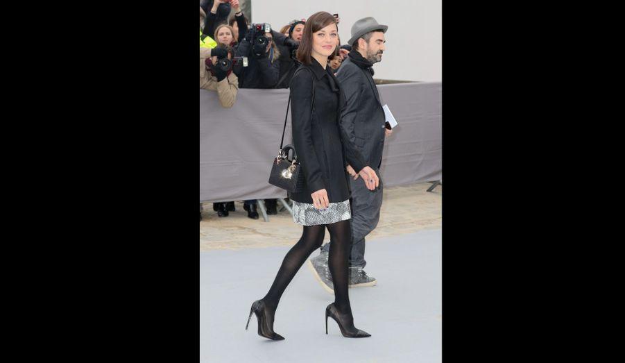 Marion Cotillard chez Dior