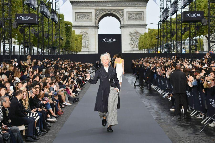 L'Oréal Le 1er octobre. Helen Mirren.