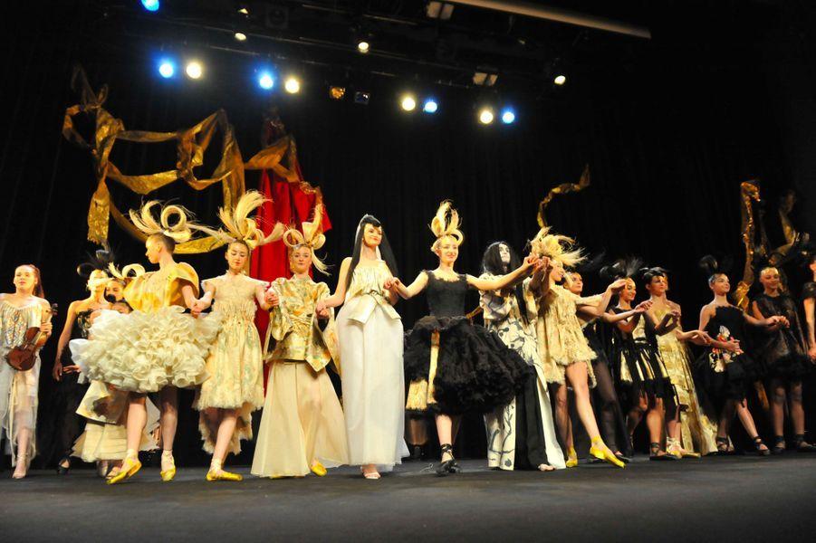 Le défilé Franck Sorbier haute couture printemps-été 2019