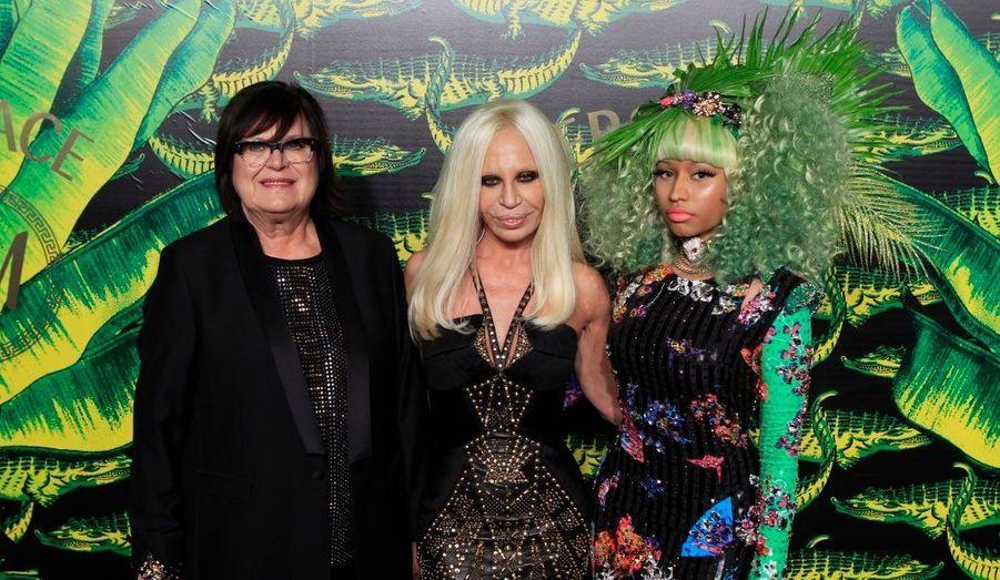 New York célébrait mardi soir le lancement de la collection capsule Versace pour H&M. Le gotha hollywoodien a répondu présent à l'invitation.