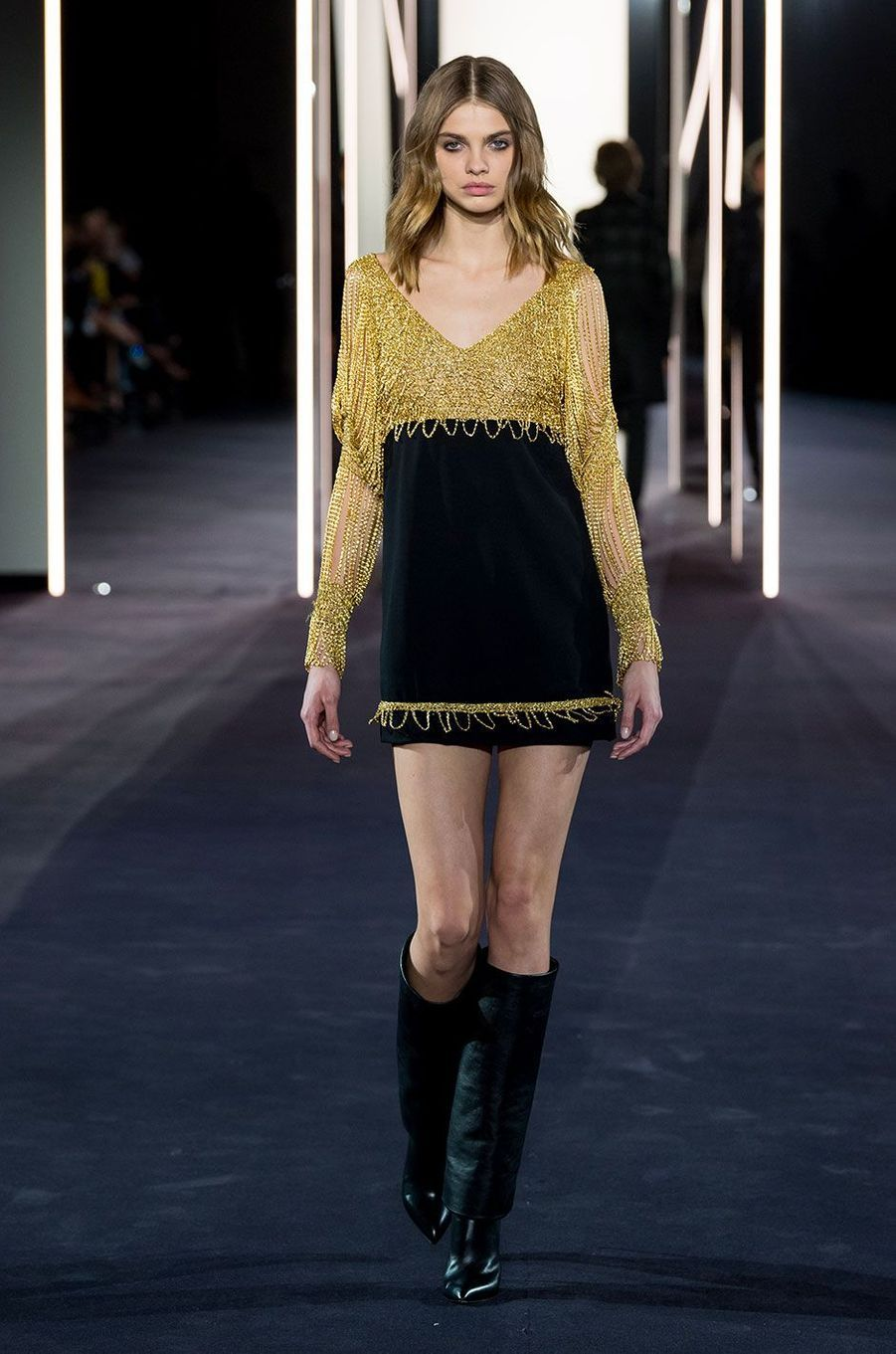 La collection Haute Couture d'Azzaro, présentée le 24 janvier 2018 à Paris.
