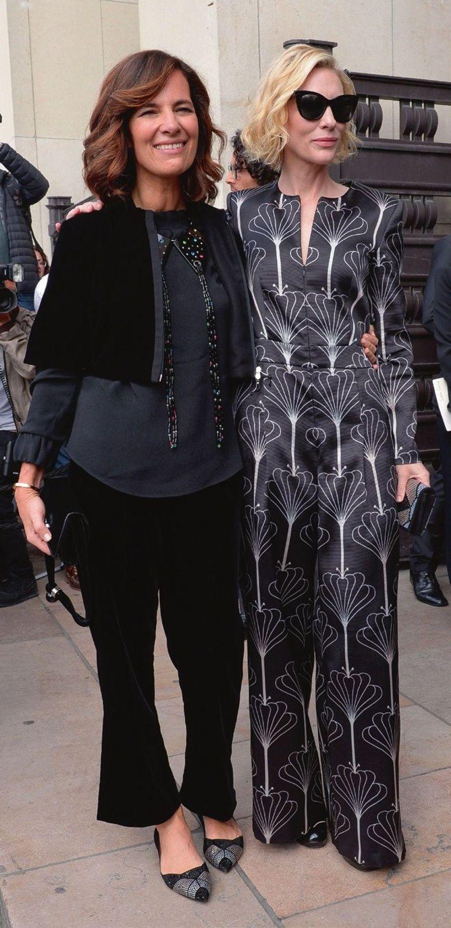 Roberta Armani et Cate Blanchett.