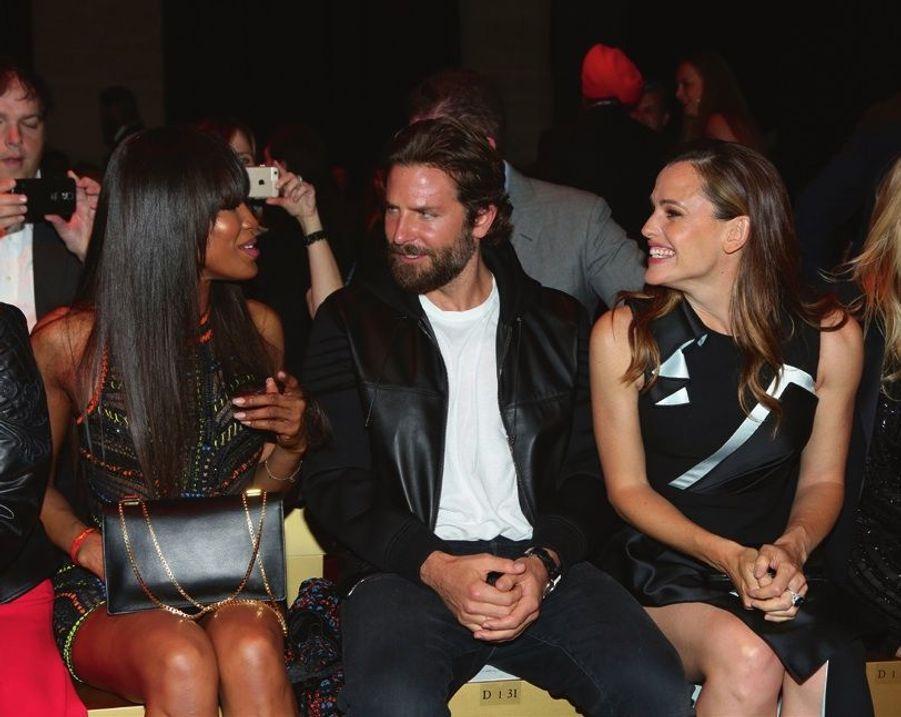 Naomi Campbell, Bradley Cooper et Jennifer Garner.