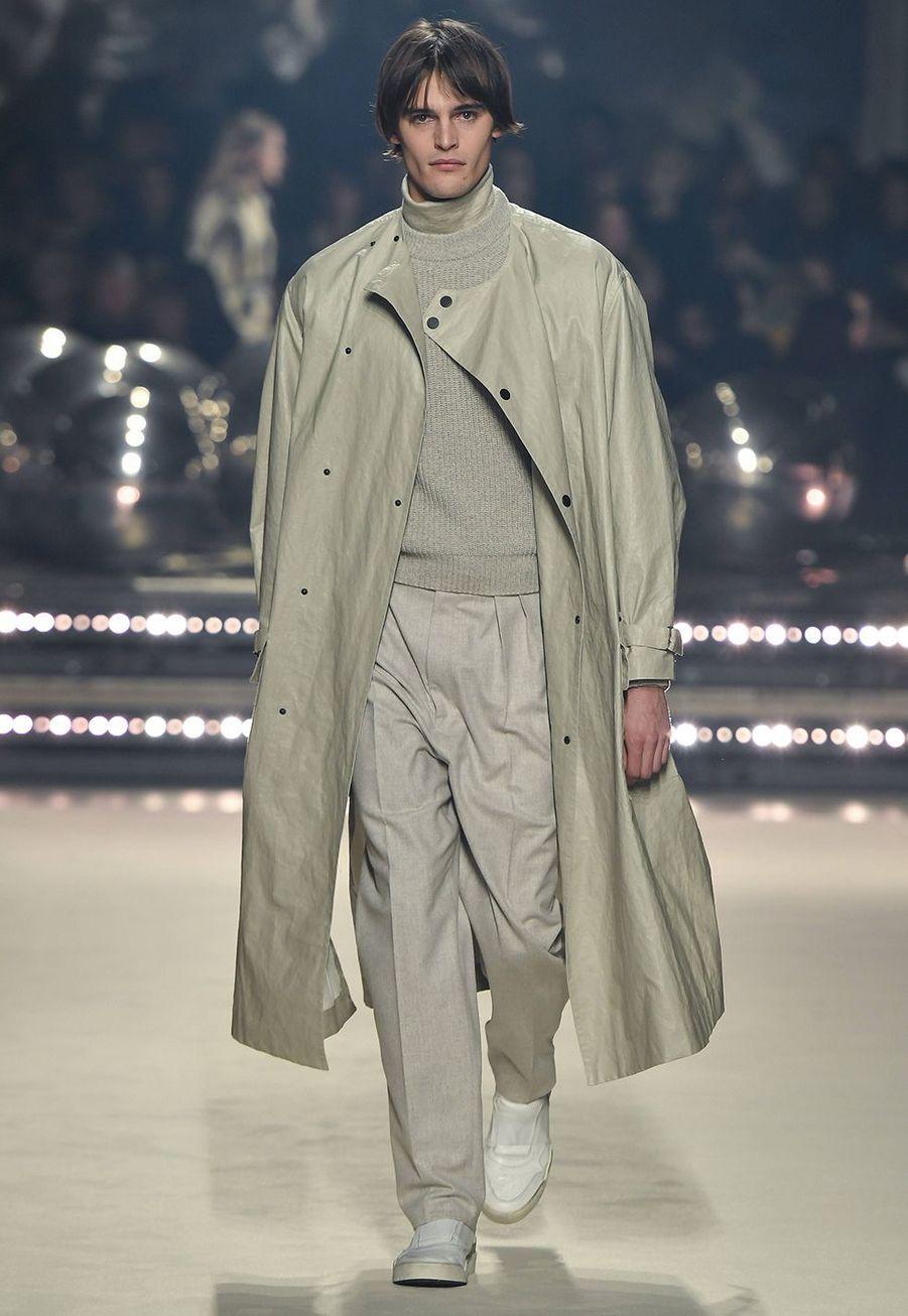 Isabel Marant présente sa dernière collection de prêt-à-porter automne-hiver 2020-2021 au Palais-Royal de Paris le 27 février 2020.