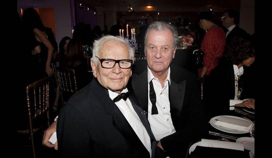 Pierre Cardin et Jacques Grange