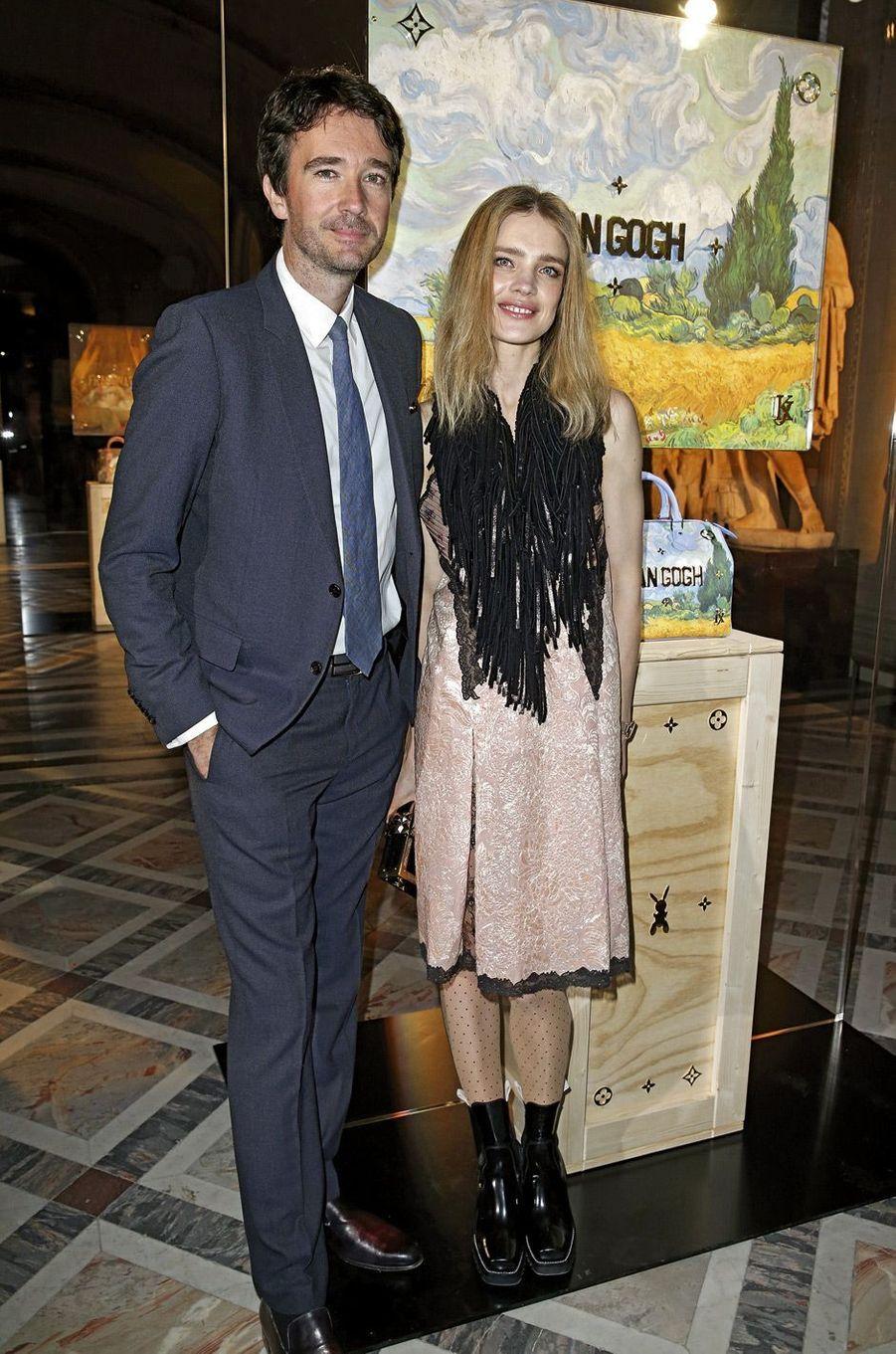 Antoine Arnault et Natalia Vodianova.