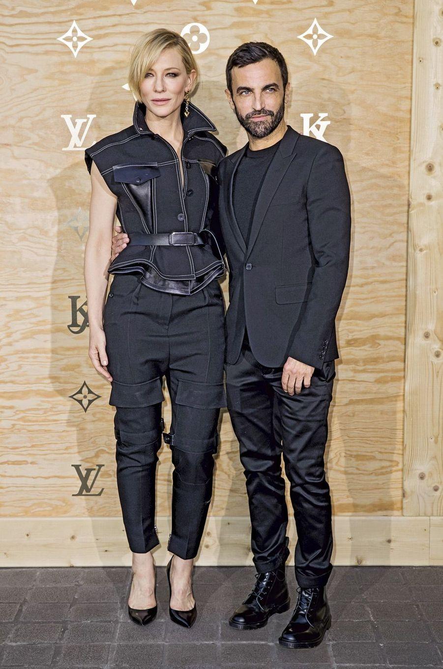 Cate Blanchett et Nicolas Ghesquière.