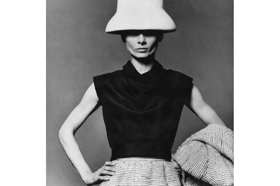 Audrey Hepburn en Givenchy pour Vogue, 1963