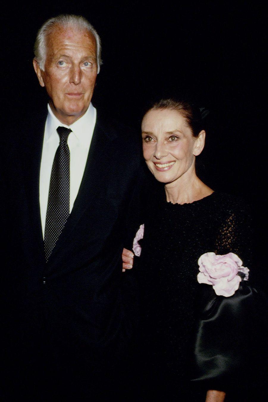 Hubert de Givenchy et Audrey Hepburn à Los Angeles