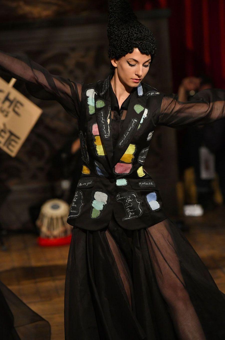 Défilé Franck Sorbier, haute couture automne-hiver-2018-2019, 4 juillet 2018, Paris