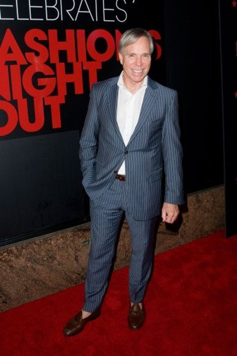 Tommy Hilfiger a assisté à la soirée Macy's, à New York.