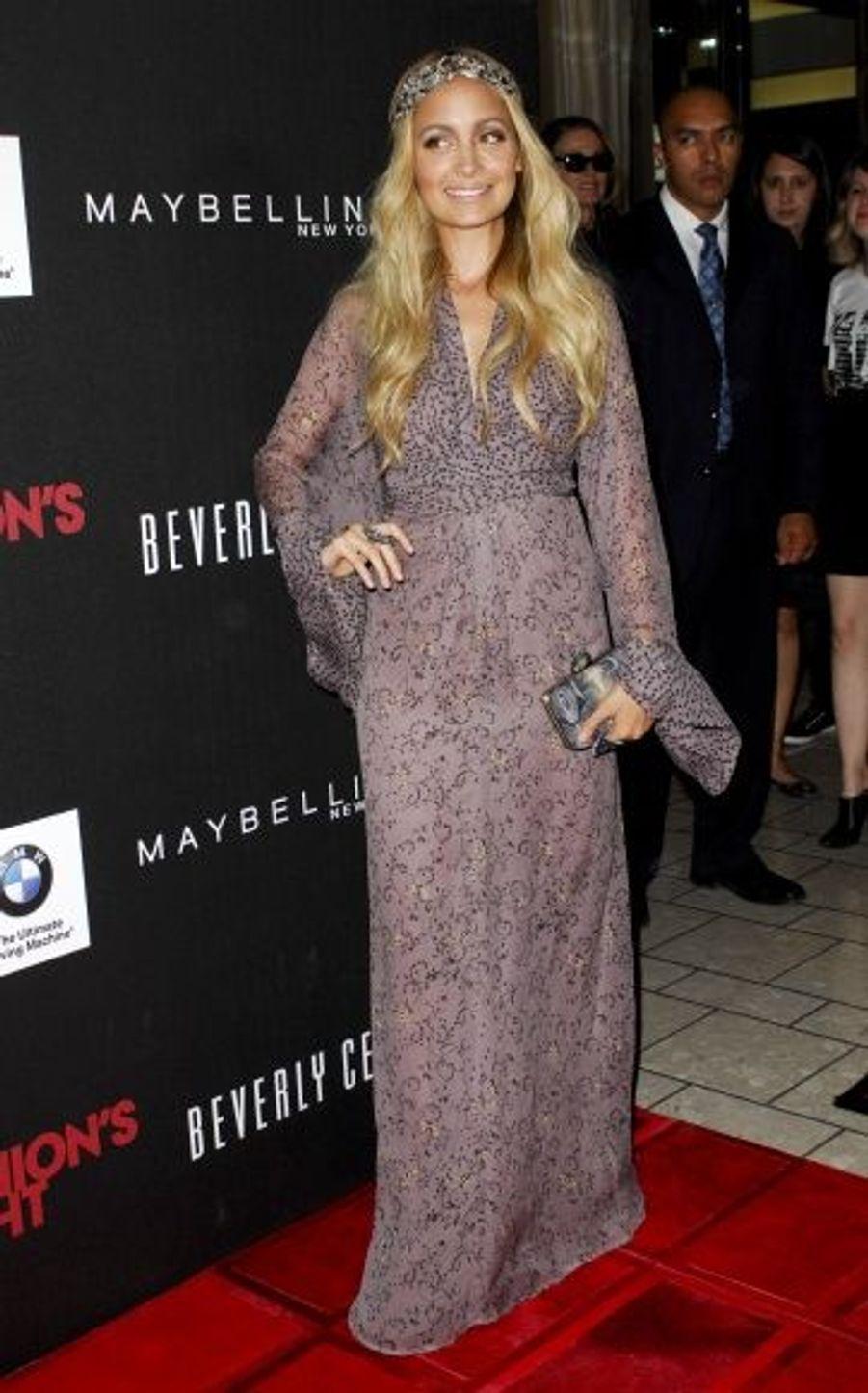 Nicole Richie a participé à l'évènement organisé au Beverly Center de Los Angeles.