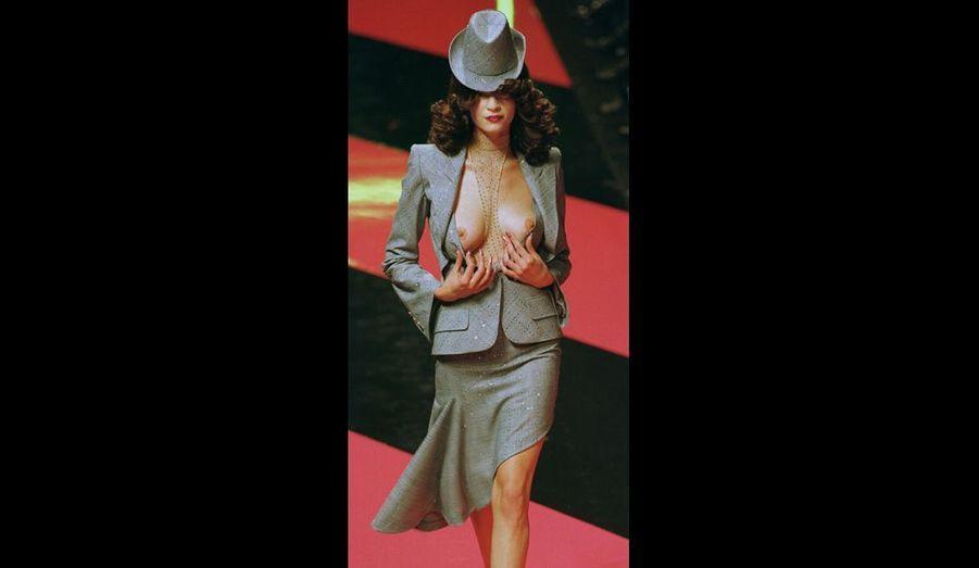 Collection printemps-été 2008 pour Givenchy