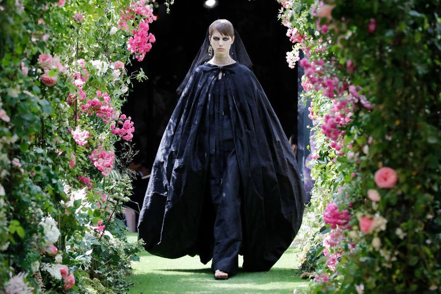 Défilé Dior Haute Couture Automne-Hiver 2019-2020, présenté le 1er juillet à Paris.