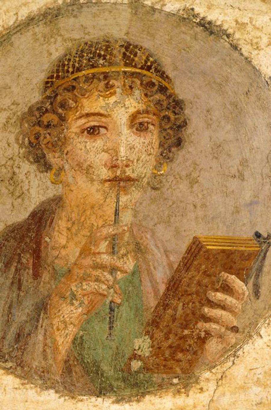 Une jeune femme de Pompei