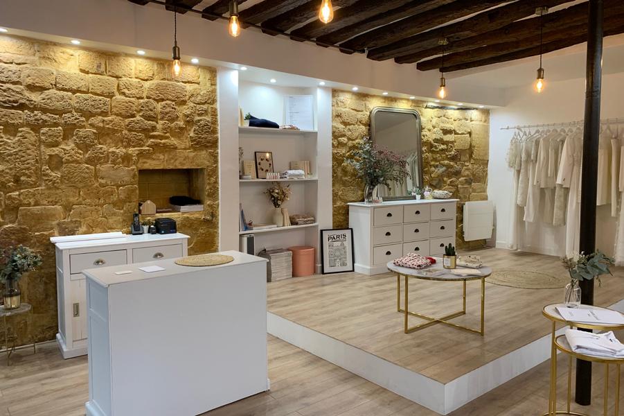 La boutique se situeau 78 rue Notre-Dame de Nazareth à Paris