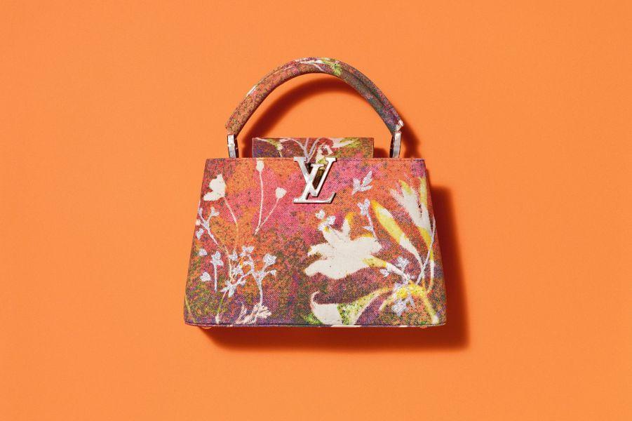 L' Arty Capucines de Louis Vuitton par Sam Falls.