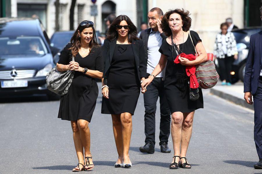 Anne Hidalgo aux obsèques de Sonia Rykiel à Paris, le 1er septembre 2016.