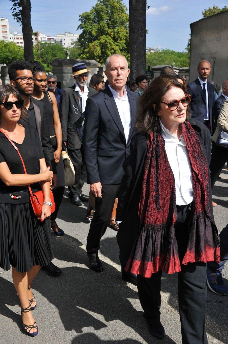 Jean-Claude Jitroisaux obsèques de Sonia Rykiel à Paris, le 1er septembre 2016.