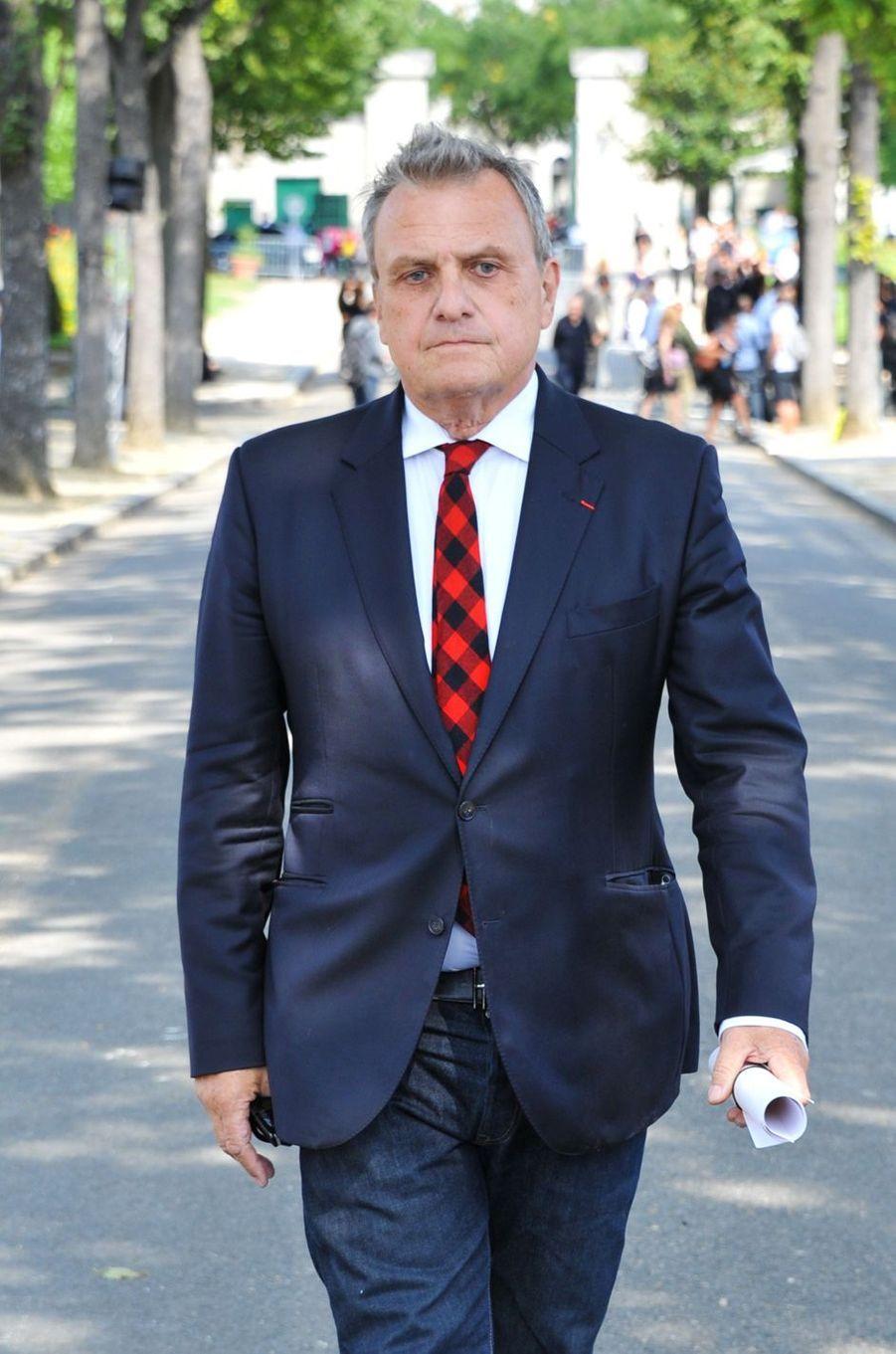 Jean-Charles de Castelbajacaux obsèques de Sonia Rykiel à Paris, le 1er septembre 2016.