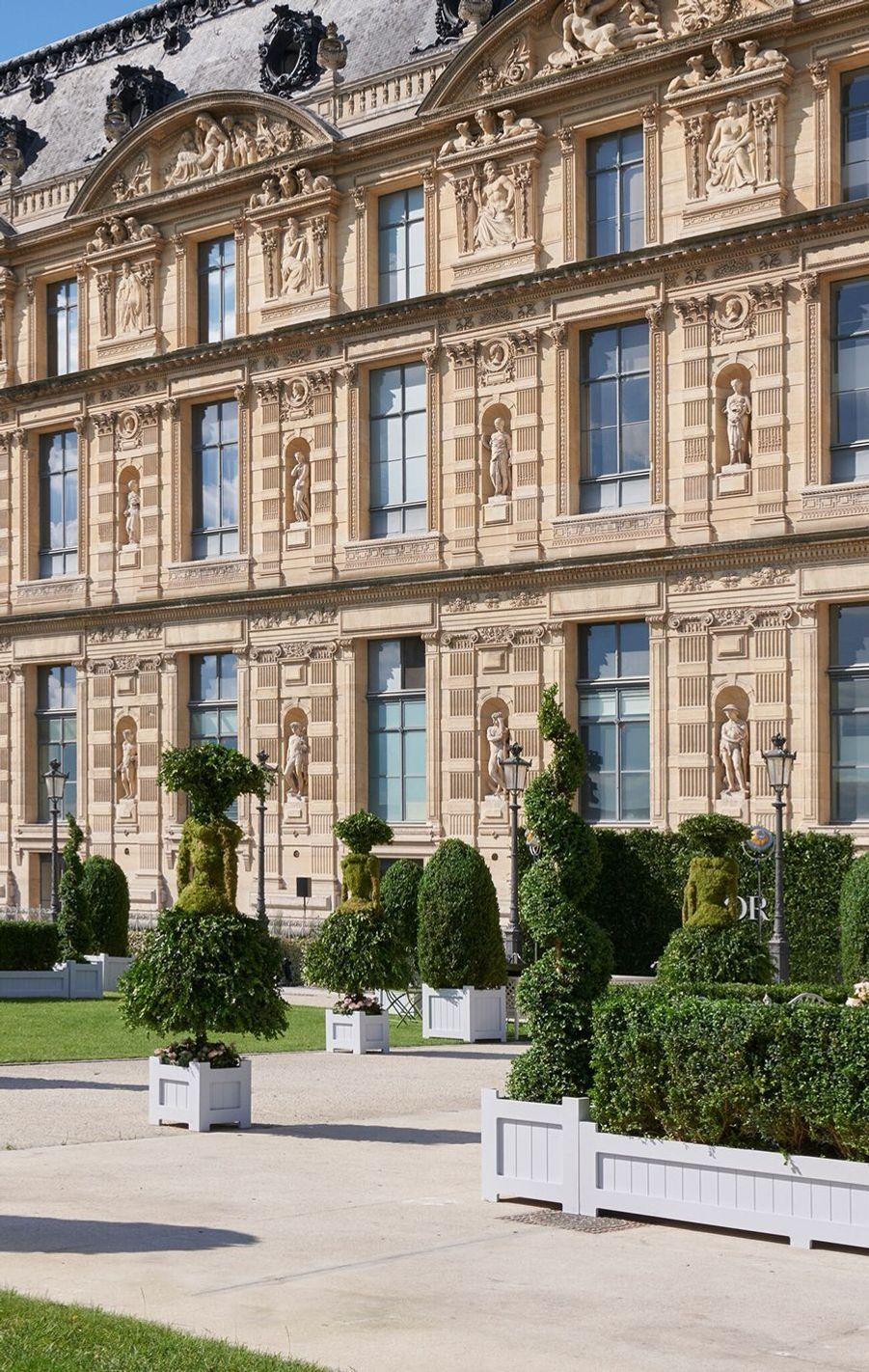 Inauguration de l'exposition Christian Dior, au musée des Arts décoratifs de Paris.