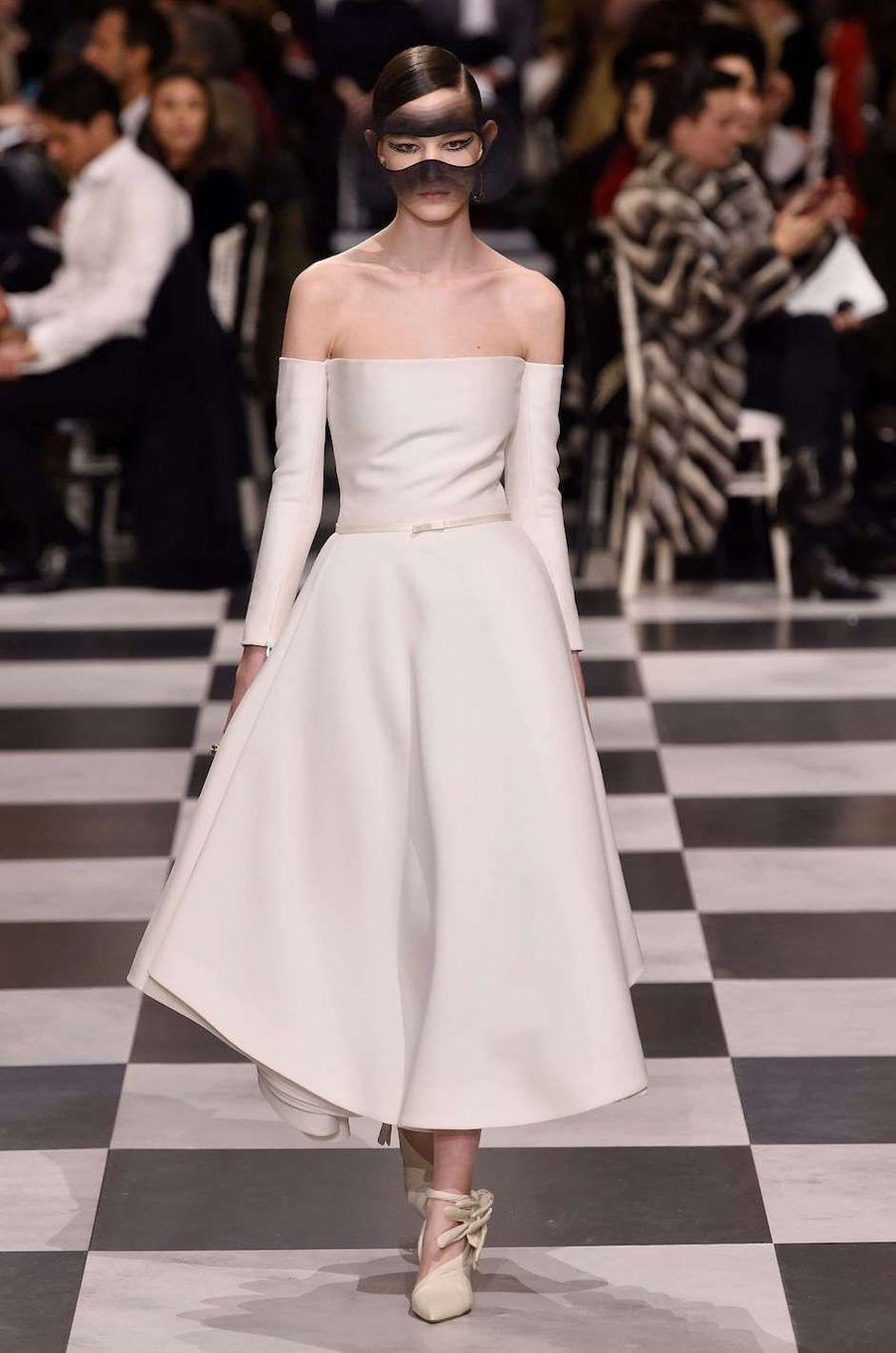 Défilé Christian Dior haute couture printemps-été 2018