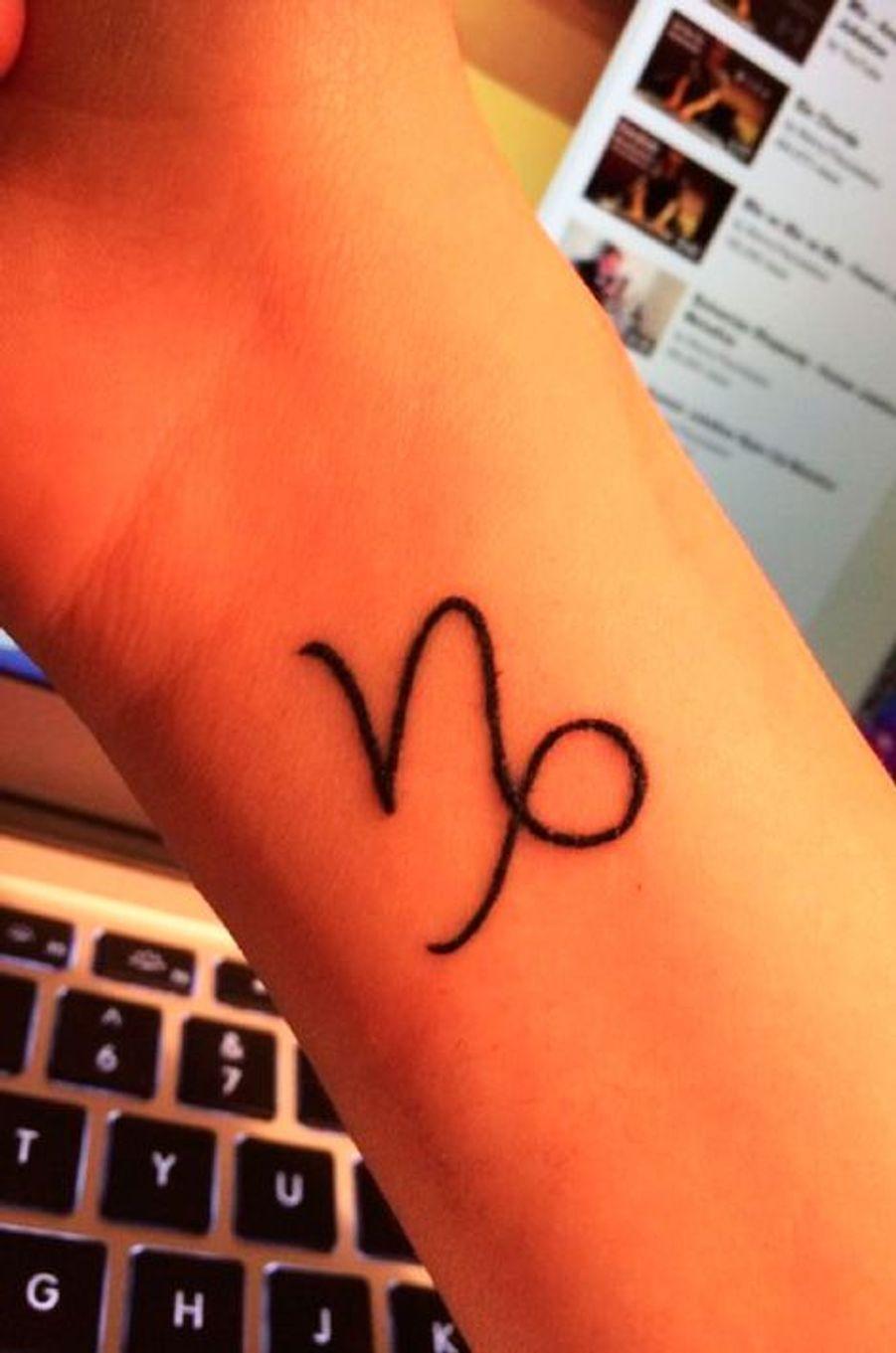 Tatouage Capricorne sur l'avant-brasPinterest – tattoo.egrafla.fr