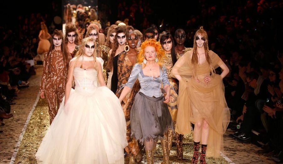 Le triomphe de la reine de la mode punk