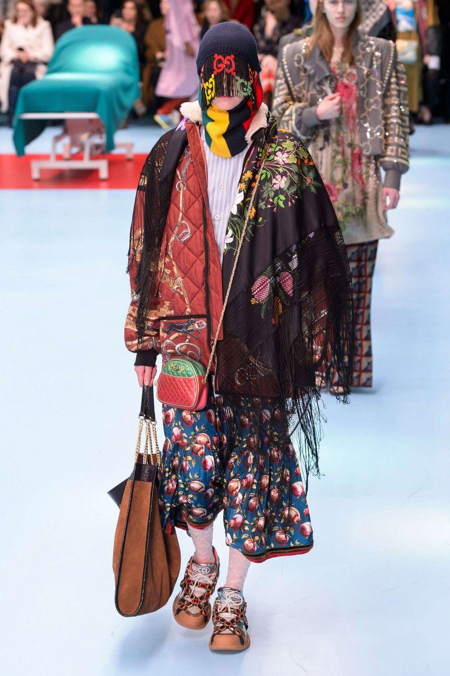 Défilé Gucci à Milan