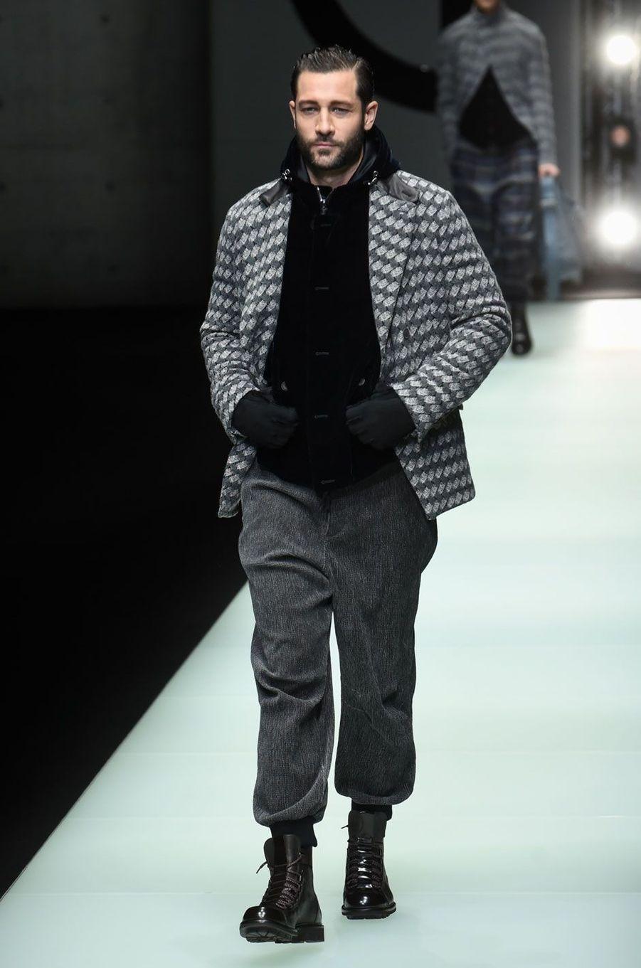 Défilé Giorgio Armani à Milan