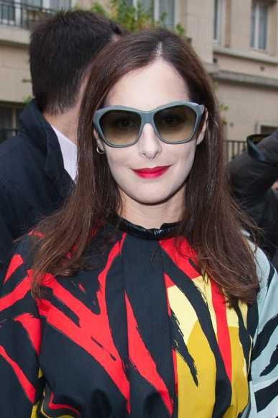 Amira Casar au défilé Balenciaga
