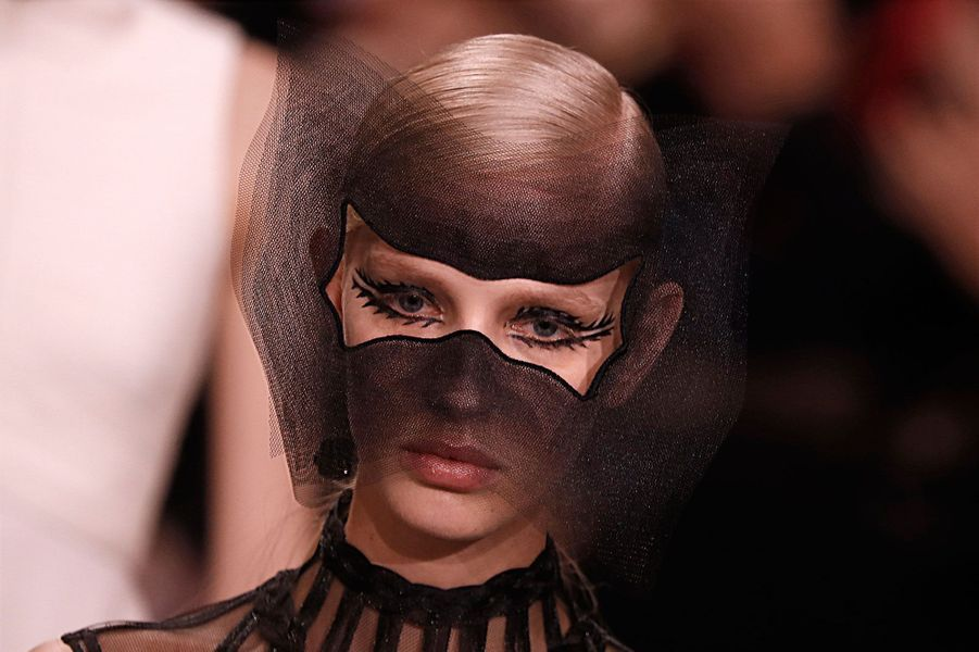 Présentation de la collection Dior Haute coutureprintemps-été 2018, le 22 janvier 2018.