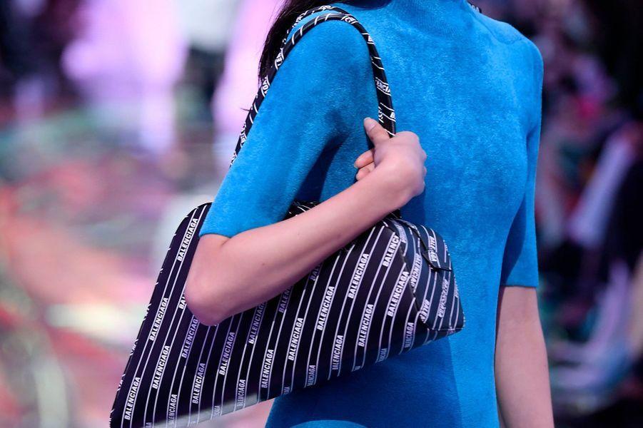 Défilé Balenciaga, le 30 septembre 2018 pour la Fashion week Prêt-à-porter printemps-été 2019.