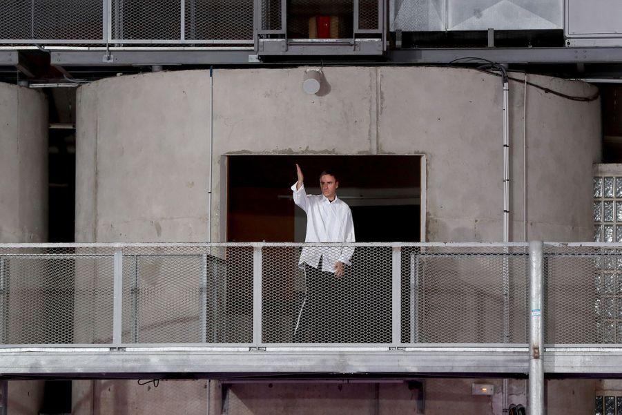 Le styliste belge Raf Simons le 20 juin 2019.