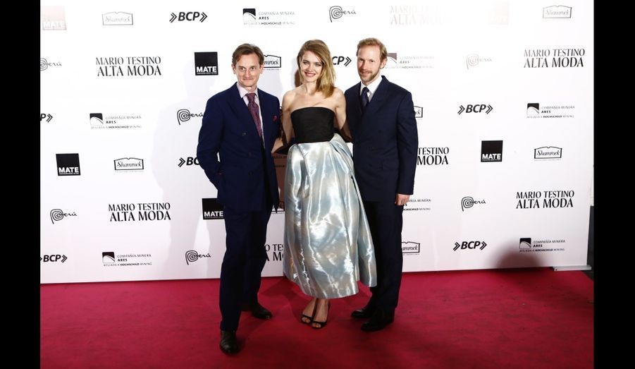 Hamish Bowles, Natalia Vodianova et Jan Olesen