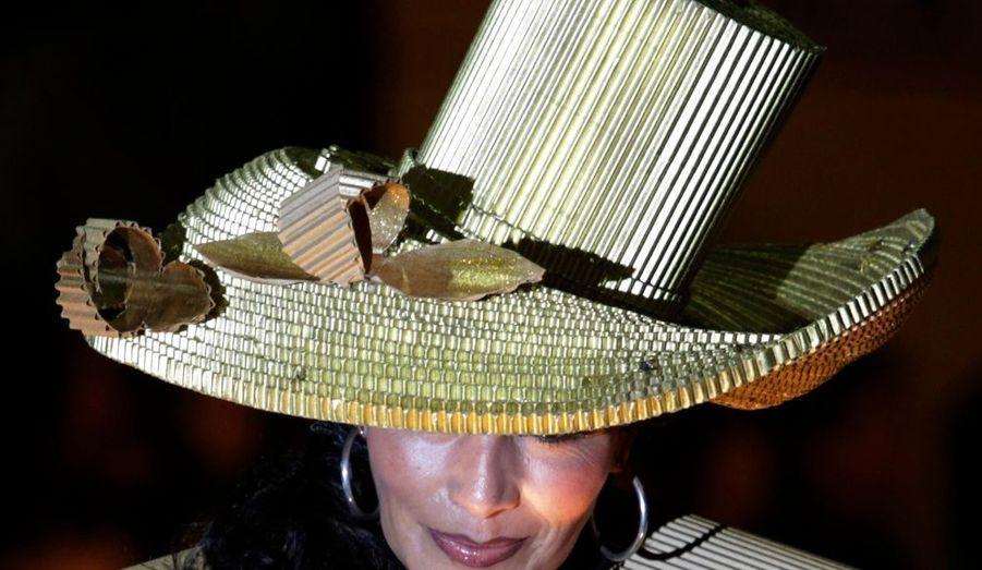 Chapeau doré