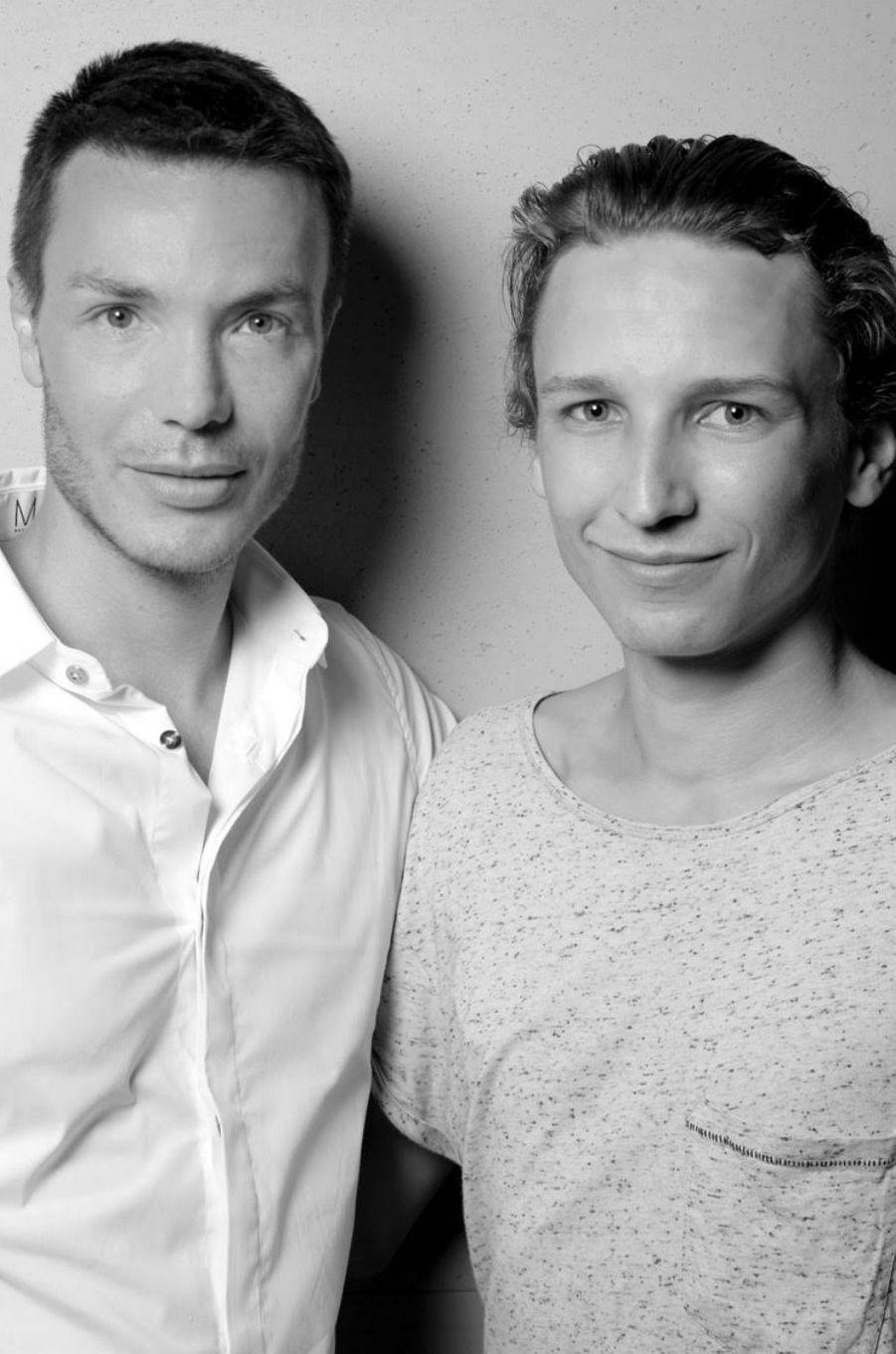 Maxime Simoens et Ernst Umhauer