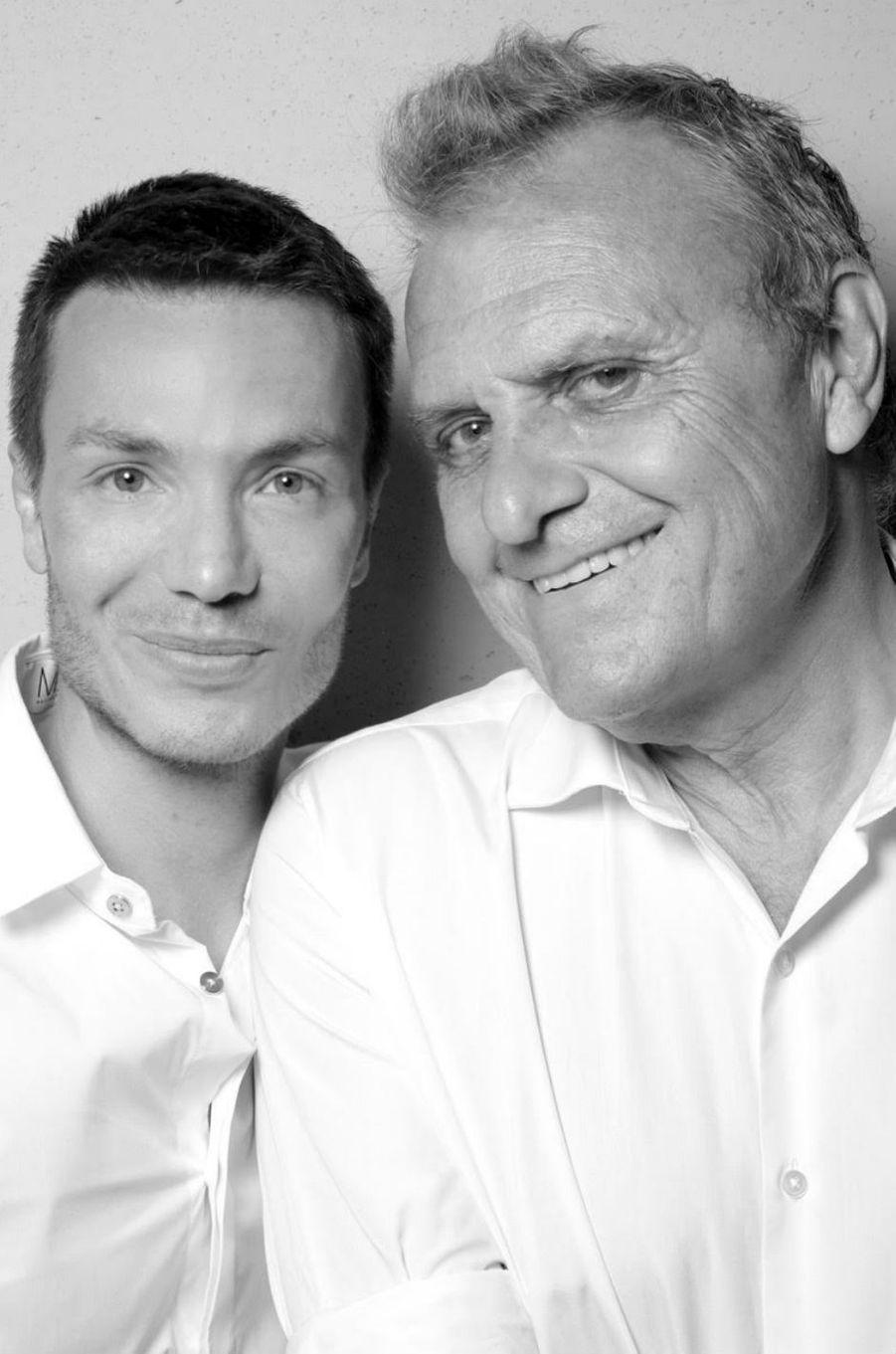 Maxime Simoens et Jean-Charles de Castelbajac