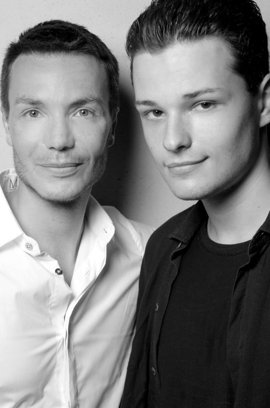 Maxime Simoens et Jules Benchetrit