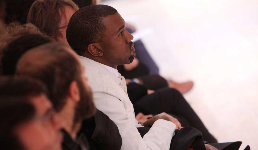 Kanye West au défilé Margiela