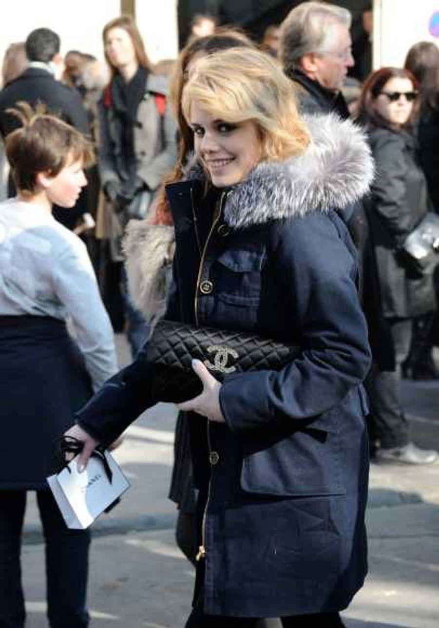 au défilé Chanel