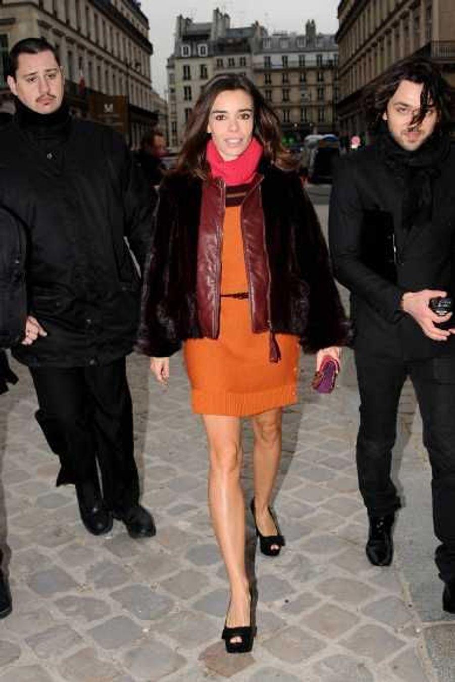 au défilé Louis Vuitton