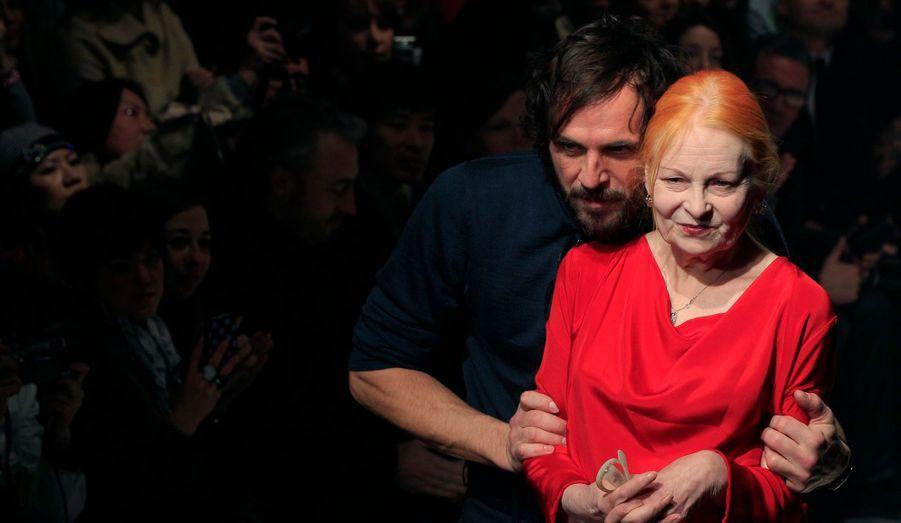 Vivienne Westwood et son mari Andreas