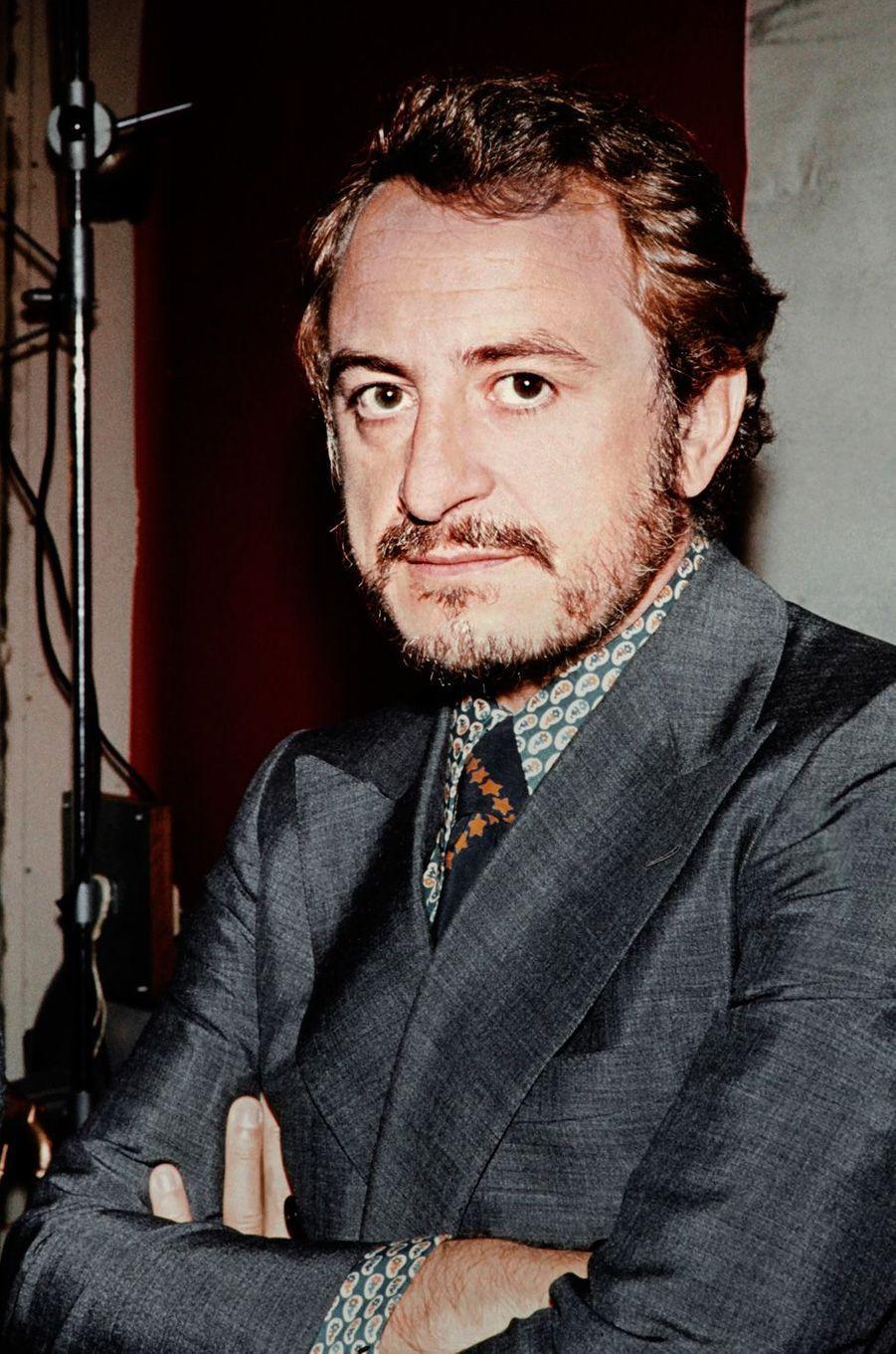 Pierre Bergé, en septembre 1971.