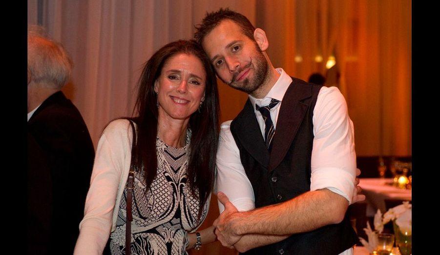 Julie Taymor et Jason Akira Somma
