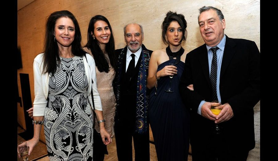 Julie Taymor, Zineb Oukach, Tahar Ben Jelloun, Lola Frears et Stephen Frears