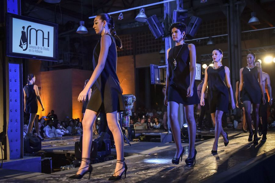 Opening de La Havane Fashion week, le 25 octobre 2017 à Cuba