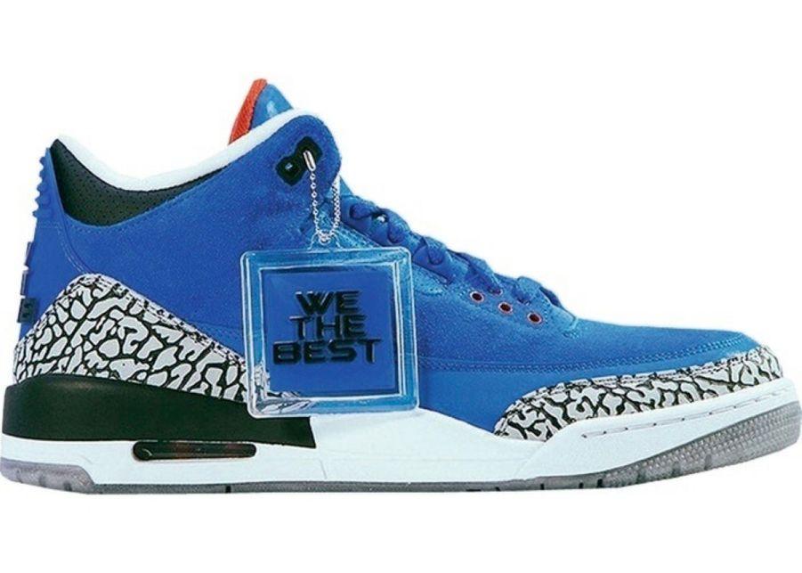9. Air Jordan 3 Retro DJ Khaled Father of Asahd, 13 931 €.