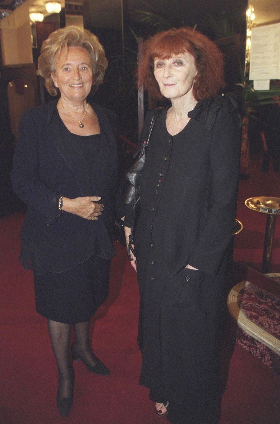 Bernadette Chirac et Sonia Rykiel.