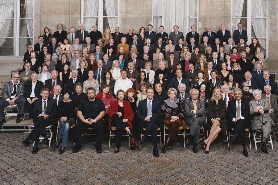 Parmi les stars se mobilisant pour les 217 métiers d'art en 2004, Sonia Rykiel.